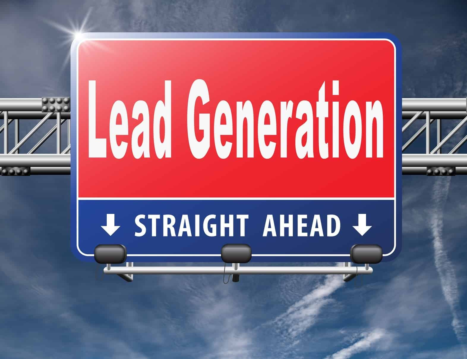 Lead generation, internet marketing for online market and commerce sales, road sign billboard...